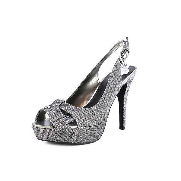 16178df2d784 Shop G by Guess Womens CATHY Peep Toe Special Occasion Strappy ...