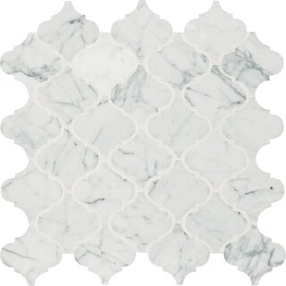 "Daltile MBAROQUEMSL Marble Collection - 3"" x 3"" Baroque Mosaic Multi-Surface Til"