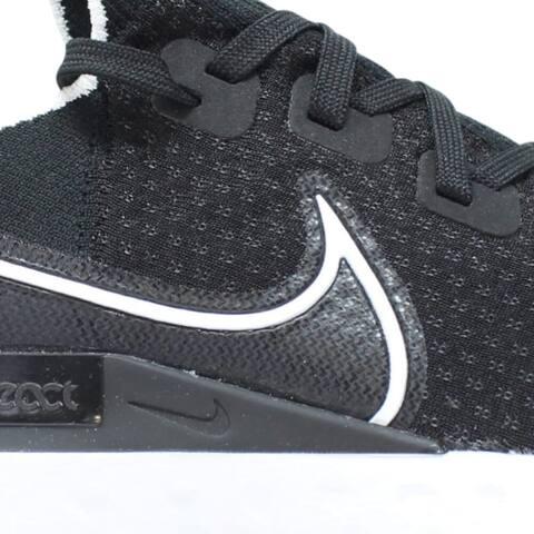 Nike React Infinity Run Fk Black/White-Dark Grey Cd4371-002 Men's