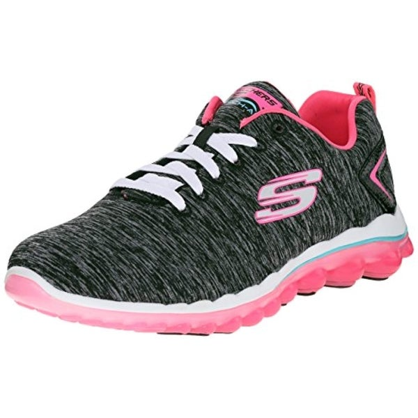 226495bcdeb4 Shop Skechers Skech-Air 2.0 Discoveries Womens Sneakers Black Hot Pink -  Free Shipping Today - Overstock - 26432928