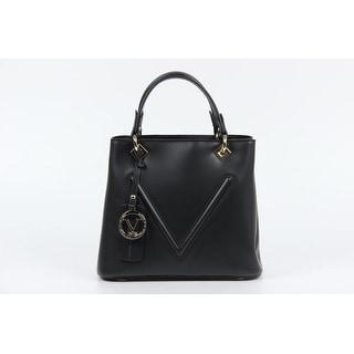 VERSACE 1969 V ITALIA Leather Tote Bag