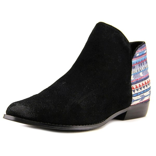 Sbicca Cira Women Round Toe Leather Bootie