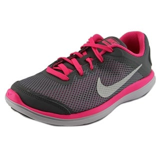 Nike Flex 2016 RN Youth Round Toe Synthetic Gray Cross Training