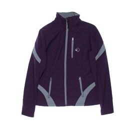 Halifax Traders Womens Softshell Contrast Trim Fleece Lined Jacket