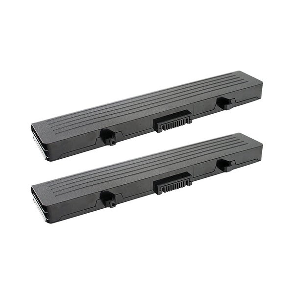 Replacement For Dell LTLI-9176-4.4 Laptop Battery (4400mAh, 11.1V, Lithium Ion) - 2 Pack