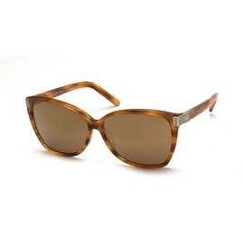 Chloe Women's  Cat Eye Gradient Sunglasses Striped brown - Small