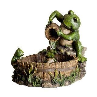 Alpine TT2508 Mother Frog Bathing Family Fountain With Pump