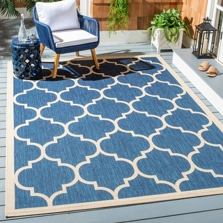 Link to Safavieh Courtyard Kathy Indoor/ Outdoor Rug Similar Items in Transitional Rugs