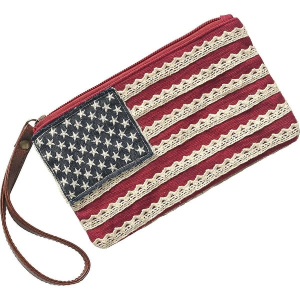Legendary Whitetails Ladies Americana Wristlet - red rock - One size