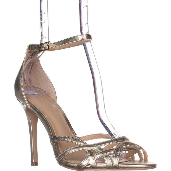 Jewel Badgley Mischka Haskell II Ankle Strap Dress Sandals, Gold
