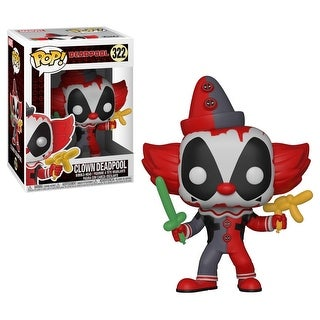 "FunKo POP! Marvel Clown Deadpool 3.75"" Vinyl Figure - multi"