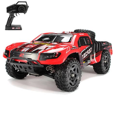 REMO 1621 1/16 RC Truck Car 50km/h 2.4G 4WD Waterproof Brushed Short Course SUV Gift