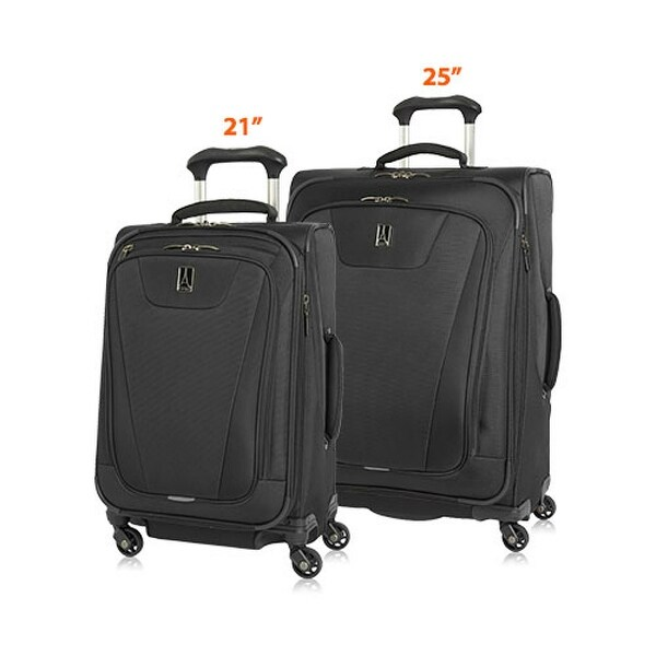 7478f5e6c Travelpro Maxlite 4 -21 & 25 Polyester Fabric Expandable Spinner Set w/  Water