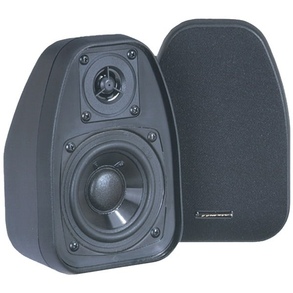 "Bic Venturi Dv32-B 3.5"" Bookshelf Speakers (Black)"