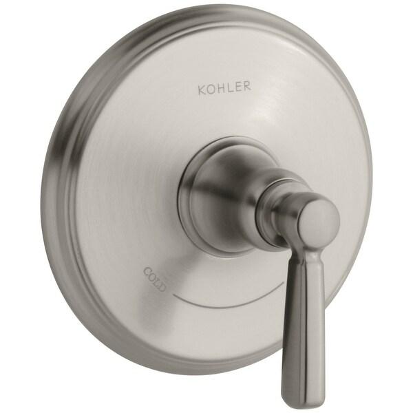 Requires Valve KOHLER K-T10593-4-2BZ Bancroft Valve Trim with Metal Lever Handle for Thermostatic Valve Oil-Rubbed Bronze