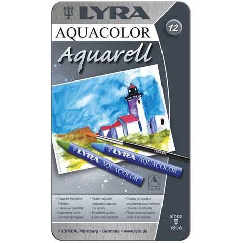 Lyra - Aquacolor Crayon Set - 48-Color Set