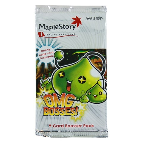 MapleStory Trading Card Game OMG Bosses! Booster Pack (Set 2)