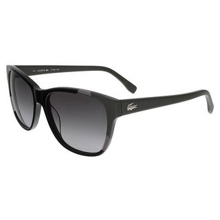 Lacoste L775/S 001 Black/Grey Wayfarer sunglasses Sunglasses