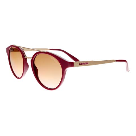 c13ffbd99ebc8 Carrera 123 S 0W23 M2 Cherry Gold Round Sunglasses - 49-21-145