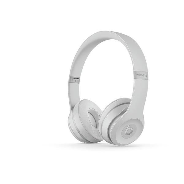 Beats by Dr. Dre - Solo3 Wireless On-Ear Headphones - Matte Silver