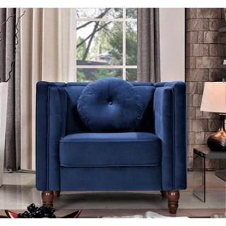Link to Angie Classic Kittleson Chesterfield Chair Similar Items in Accent Chairs