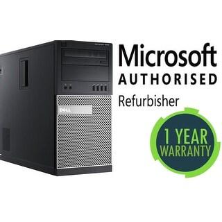 Refurbished Dell 7010 TWR, intel Ci5(3470) - 3.2GHz, 16GB, 2TB, DVD, W10 Pro, WiFi
