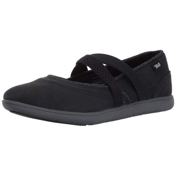 Shop Teva Women s W Hydro-Life Slip-On Leather Slipper - Free ... ceb367aa5f