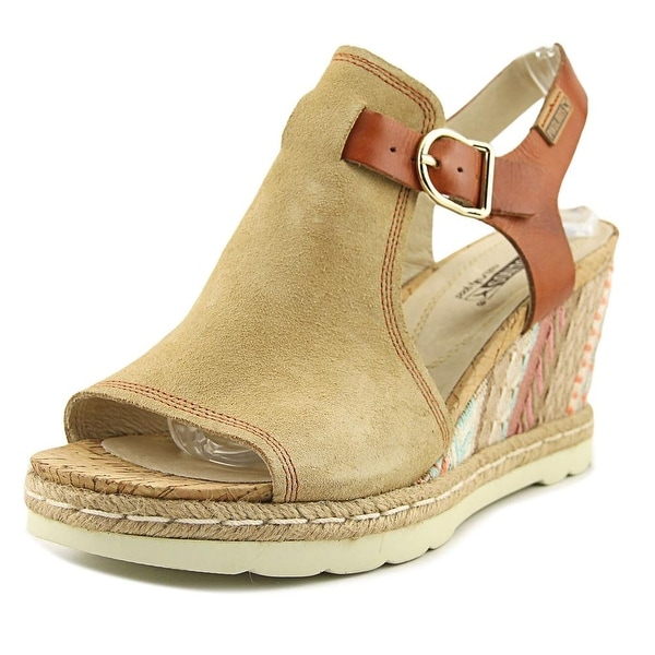 Pikolinos Flamingo Camel Sandals