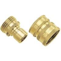 Fiskars 581266 Green Thumb Brass Quick Connector Set
