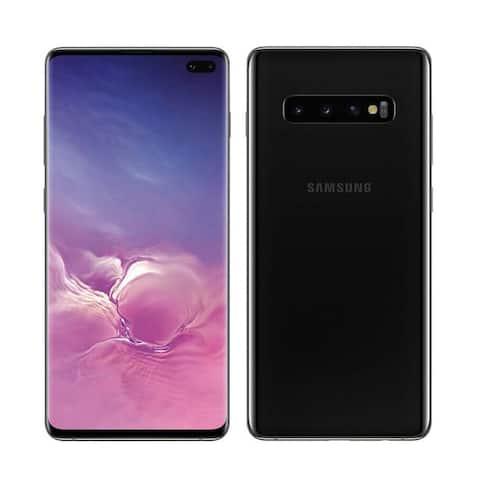 Samsung Galaxy S10+ SM-G975U 128GB Black Verizon Smartphone