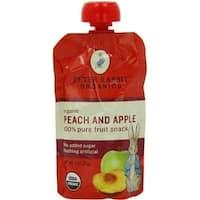 Peter Rabbit Organics - Peach & Apple Puree ( 10 - 4 OZ)