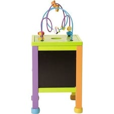 Boikido Wooden Kids COUNTING STATION, Kids Learning Multi ACTIVITY CENTER