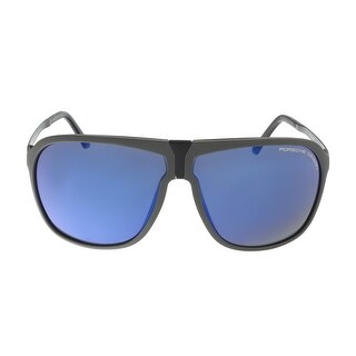 Porsche P8618-B Dark Blue Aviator Sunglasses - 64-9-140