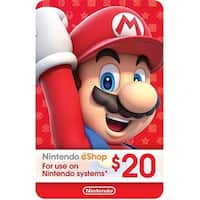 00441Nin - Nintendo Card 20 Dollar