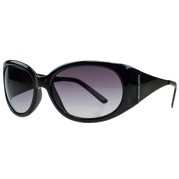 Michael Kors M3401/S 001 Black Rectangular Sunglasses - 58-18-130