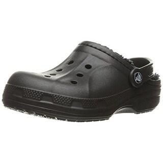 Crocs Girls Winter Clogs Faux Fur Lined
