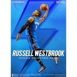 Enterbay X NBA Collection Russell Westbrook 1:9 Figure MM-1203