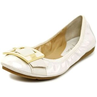 Marc Fisher Womens Rosa Round Toe Ballet Flats