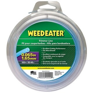 "Weed Eater 588937904 Round Trimmer Line, 0.065"" x 100'"
