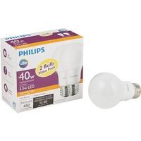 Philips Lighting Co 2Pk 5.5W A19 Sw Led Bulb 462176 Unit: EACH
