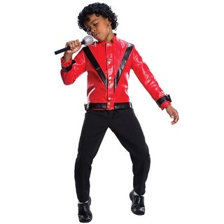 Charades Michael Jackson Thriller Child Costume - Red