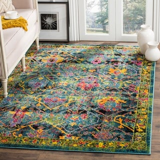 Link to Safavieh Cherokee Florie Boho Oriental Rug Similar Items in As Is