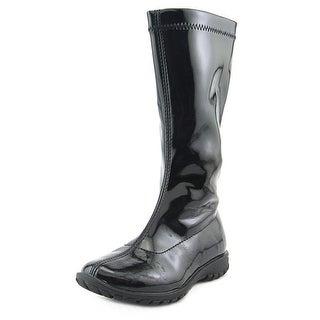 Primigi Jenna Toddler Round Toe Synthetic Black Boot