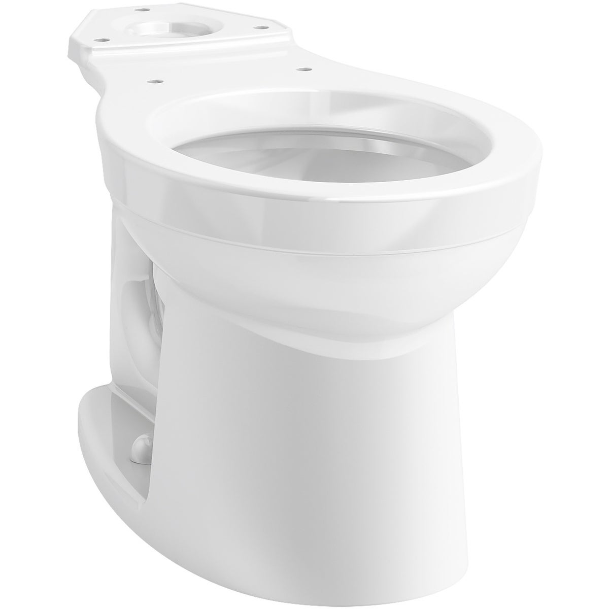 Magnificent Kohler K 25096 Kingston Round Toilet Bowl Only White Andrewgaddart Wooden Chair Designs For Living Room Andrewgaddartcom