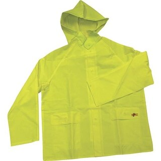 Custom Leathercraft Lrg 2Pc Rain Jacket R114L Unit: EACH