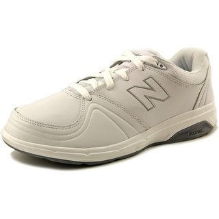 New Balance WW813 4E Round Toe Leather Walking Shoe
