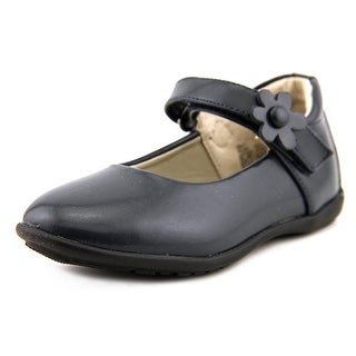 Balleto by Jumping Jacks Sally Youth Round Toe Leather Blue Mary Janes