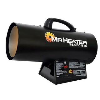 Mr Heater F271350 (MH38QFA) Forced Air Propane Heater, 38,000 BTU