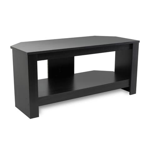 "Mount-It! Wood TV Stand and Storage Console For 32"", 35"", 37"" Inch TVs (MI-883)"