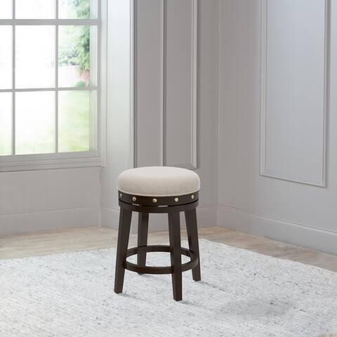 Hillsdale Furniture Benard Backless Counter Stool, Deep Smoke Brown